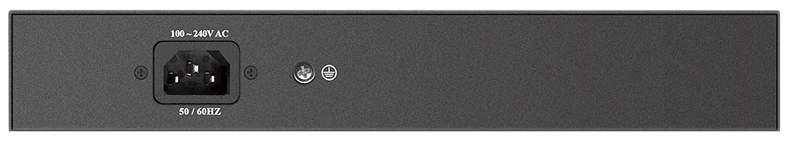 Коммутатор D-Link DES-1008P+/A1A Серый, черный