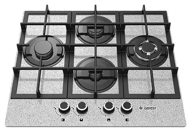 Встраиваемая варочная панель газовая GEFEST ПВГ 2231-01 К46 Grey