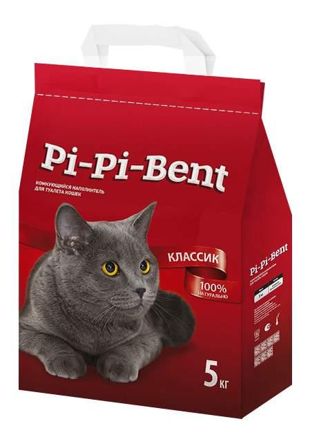 Наполнитель для туалета Pi-Pi-Bent Комкующийся 5 кг