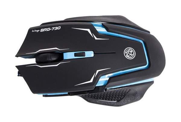 Игровая мышь MARVO BRG-730 Blue/Black
