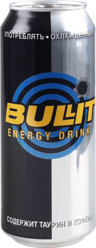Напиток энергетический Bullit газированный жестяная банка 0.5 л
