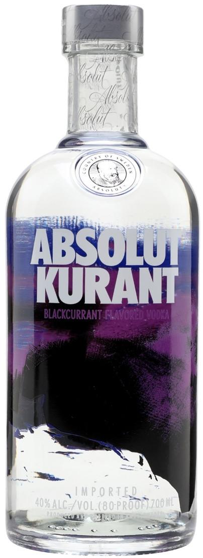 Водка Absolut Kurant 0.7 л