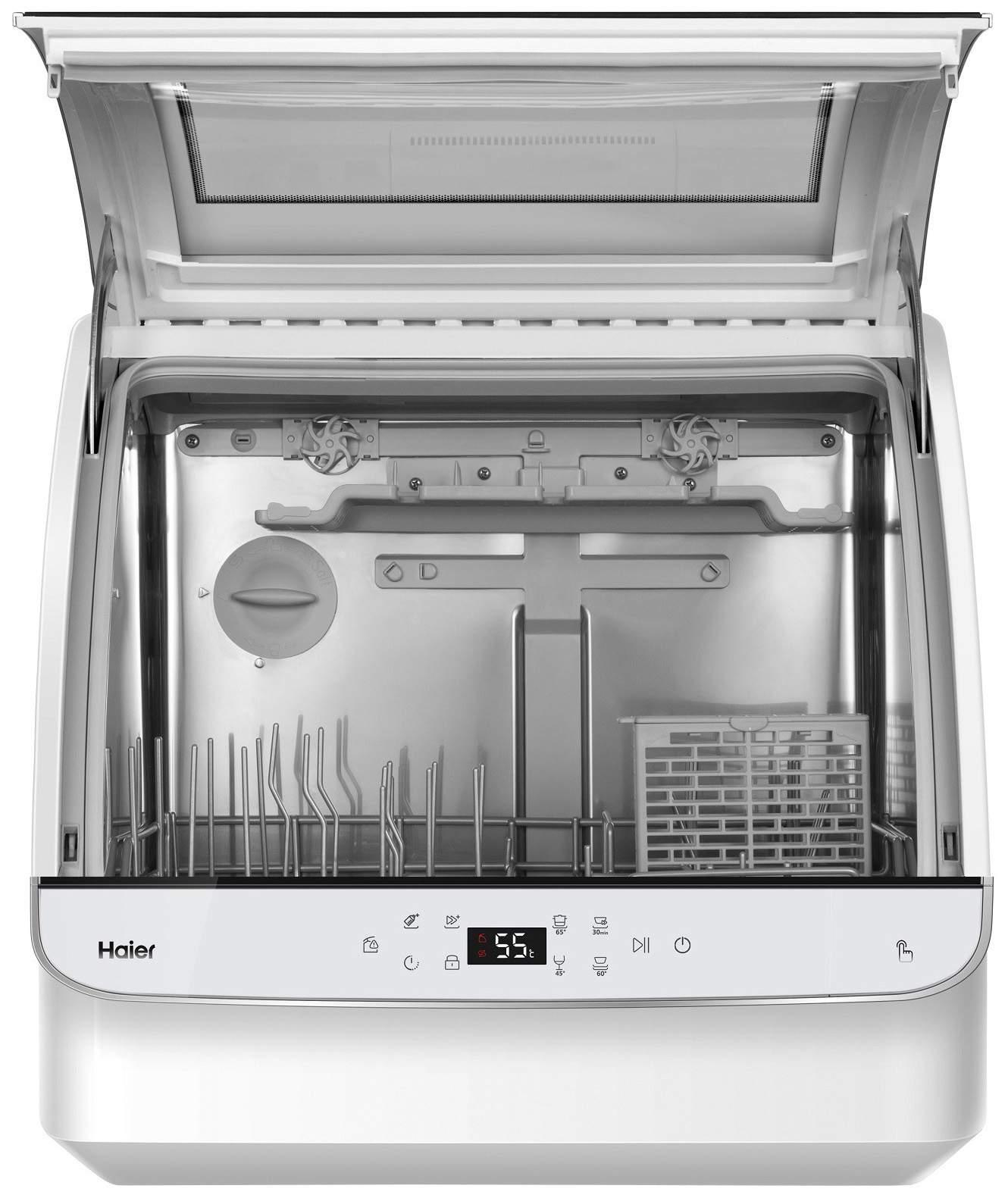 Посудомоечная машина компактная Haier DW2-STFWWRU white