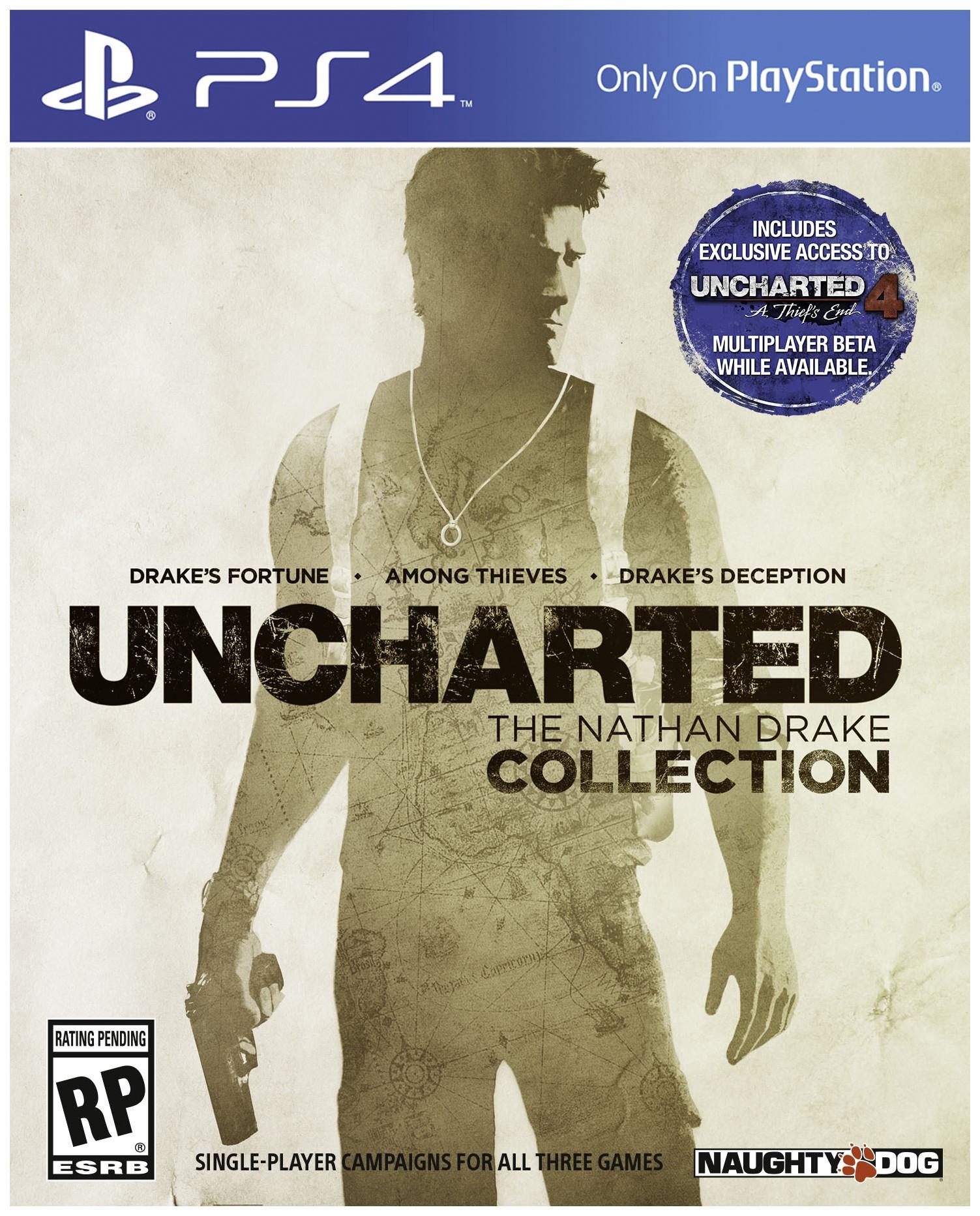 Игра Uncharted Натан Дрейк. Коллекция для PlayStation 4