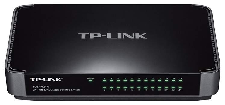 Коммутатор TP-LINK TL-SF1024M Черный