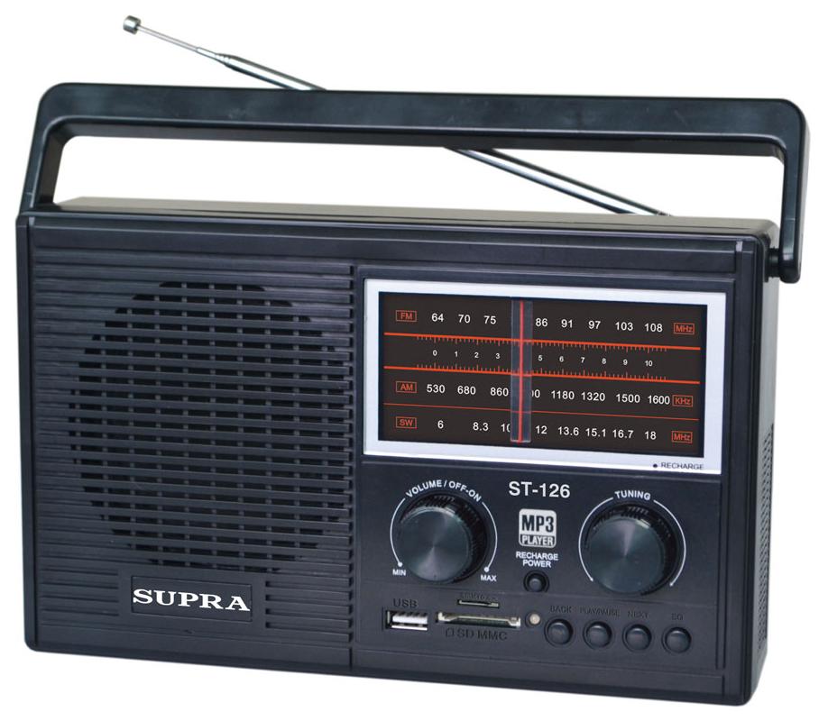 Радиоприемник Supra T-126