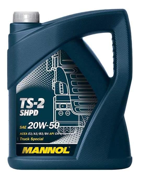 Моторное масло Mannol TS-2 SHPD 20W-50 5л