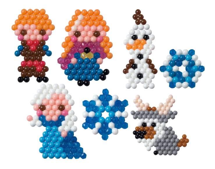 Мозаика Aqua Beads Холодное сердце