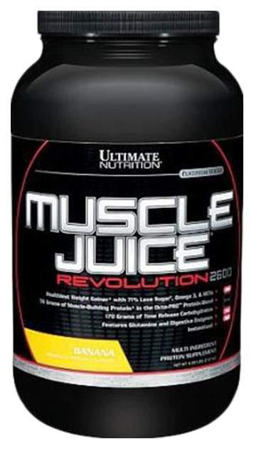 Гейнер Ultimate Nutrition Muscle Juice Revolution 2120 г Banana