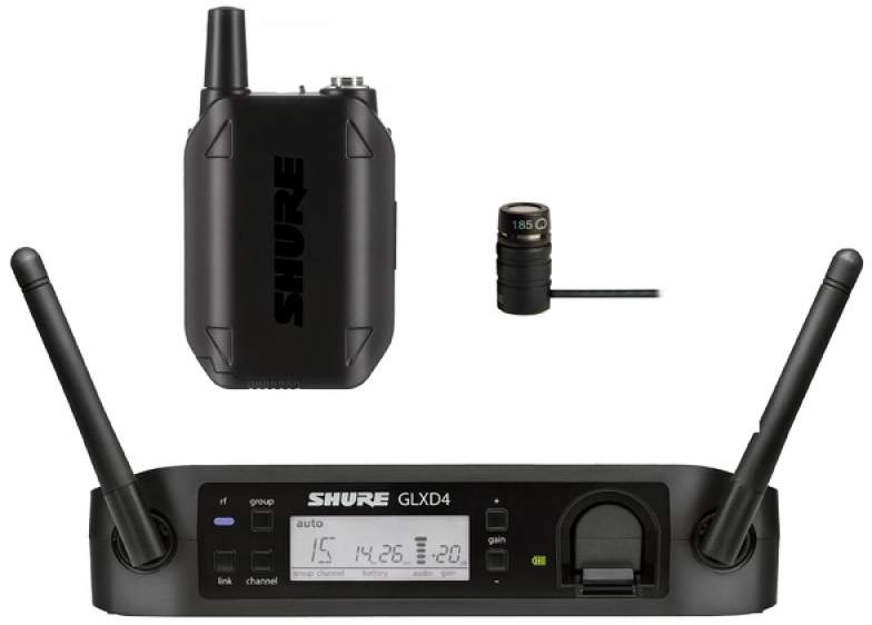 Радиосистема Shure GLXD14E/85 Z2 24 GHz