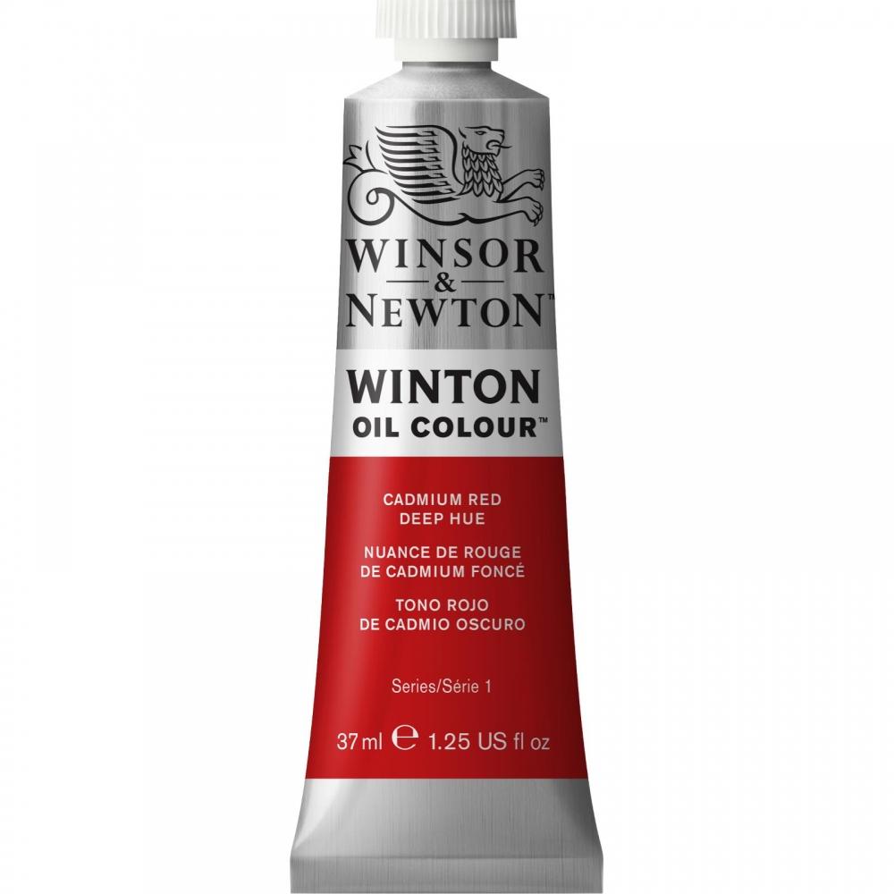 Масляная краска Winsor&Newton Winton насыщенно-красный кадмий 37 мл