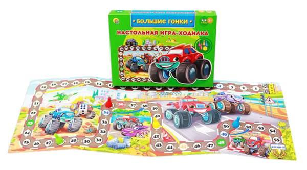 Семейная настольная игра Рыжий кот Большие гонки
