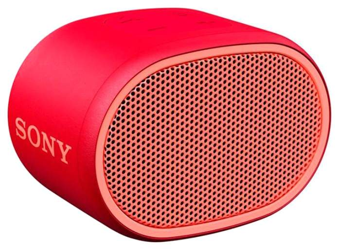 Беспроводная акустика Sony XB01 Extra Bass Red