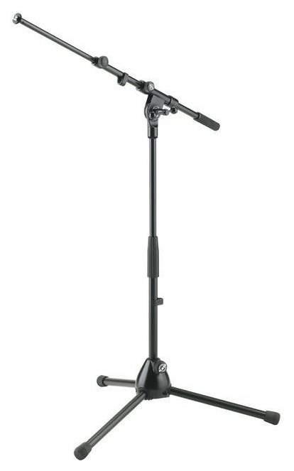 Микрофонная стойка журавль Konig&Meyer 25900-300-55 низкая Черный
