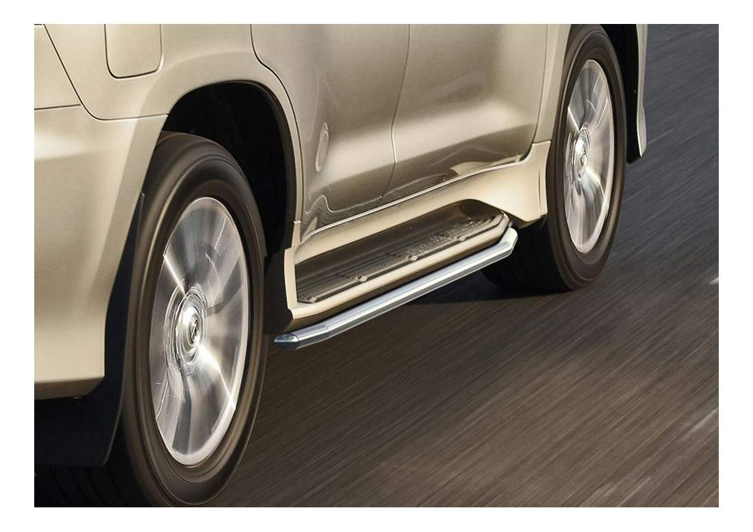 Защита порогов RIVAL для Lexus (R.3210.006)