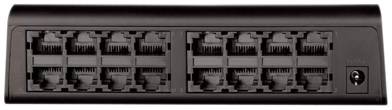 Коммутатор D-Link DES-1016A/E1B Black