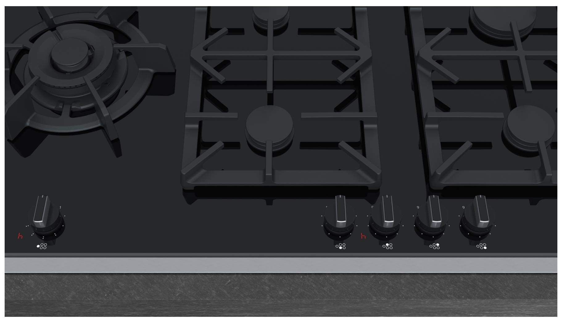 Встраиваемая варочная панель газовая Neff T29TA79N0 Black