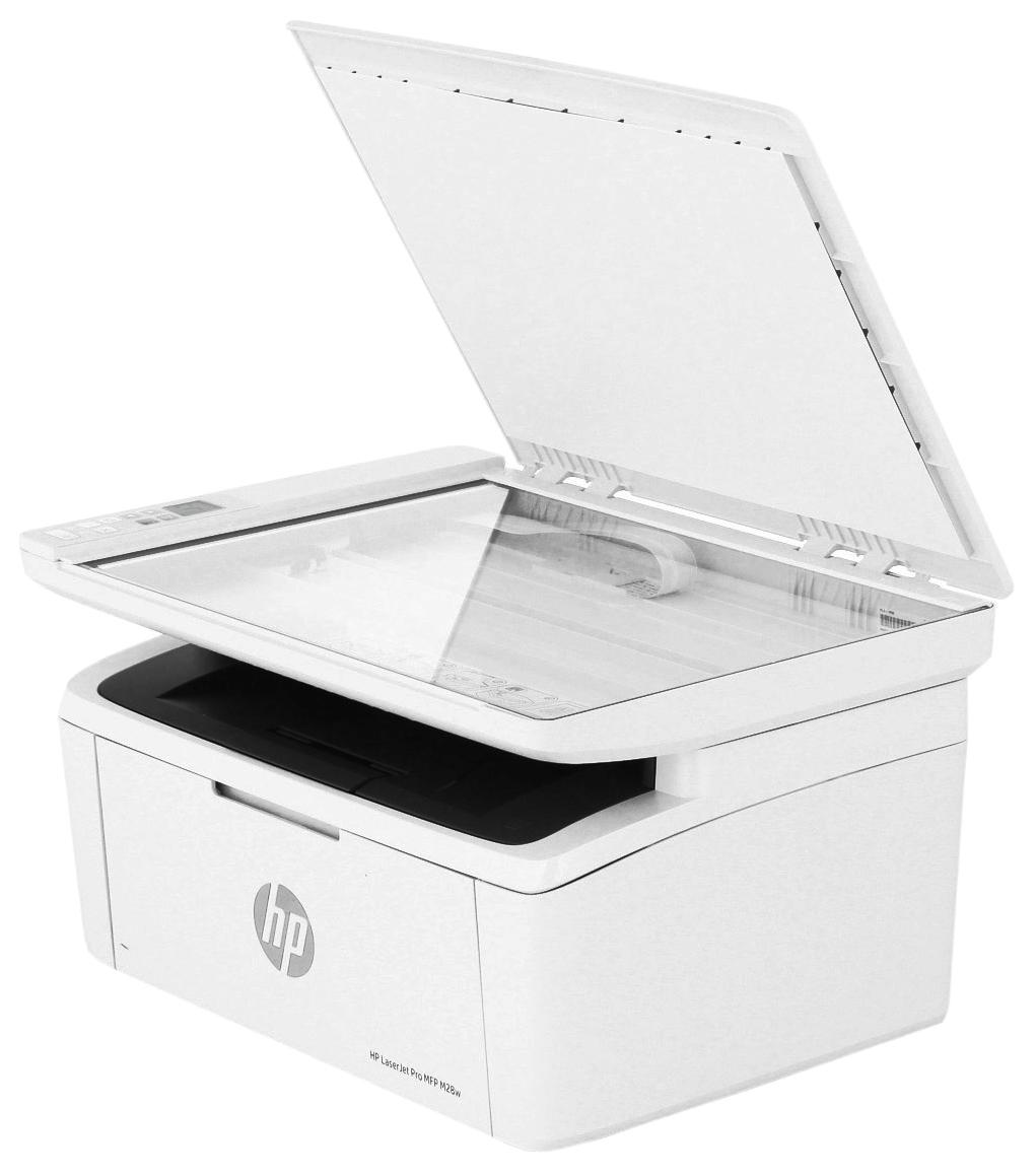 Миниатюра Лазерное МФУ HP LaserJet Pro M28w №5