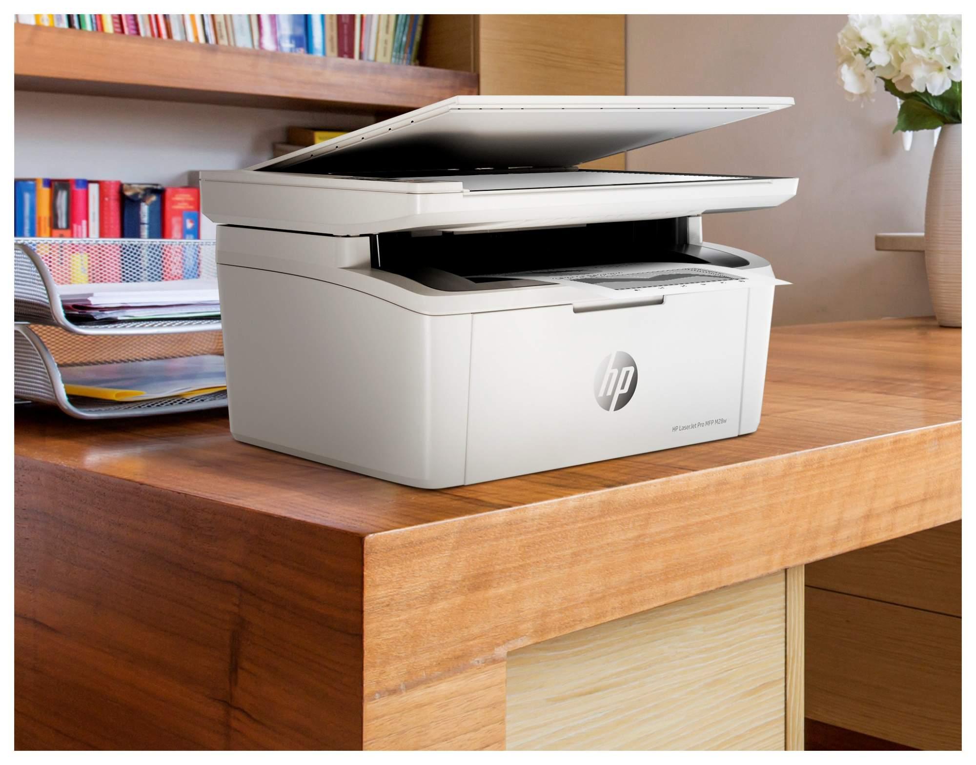 Миниатюра Лазерное МФУ HP LaserJet Pro M28w №9