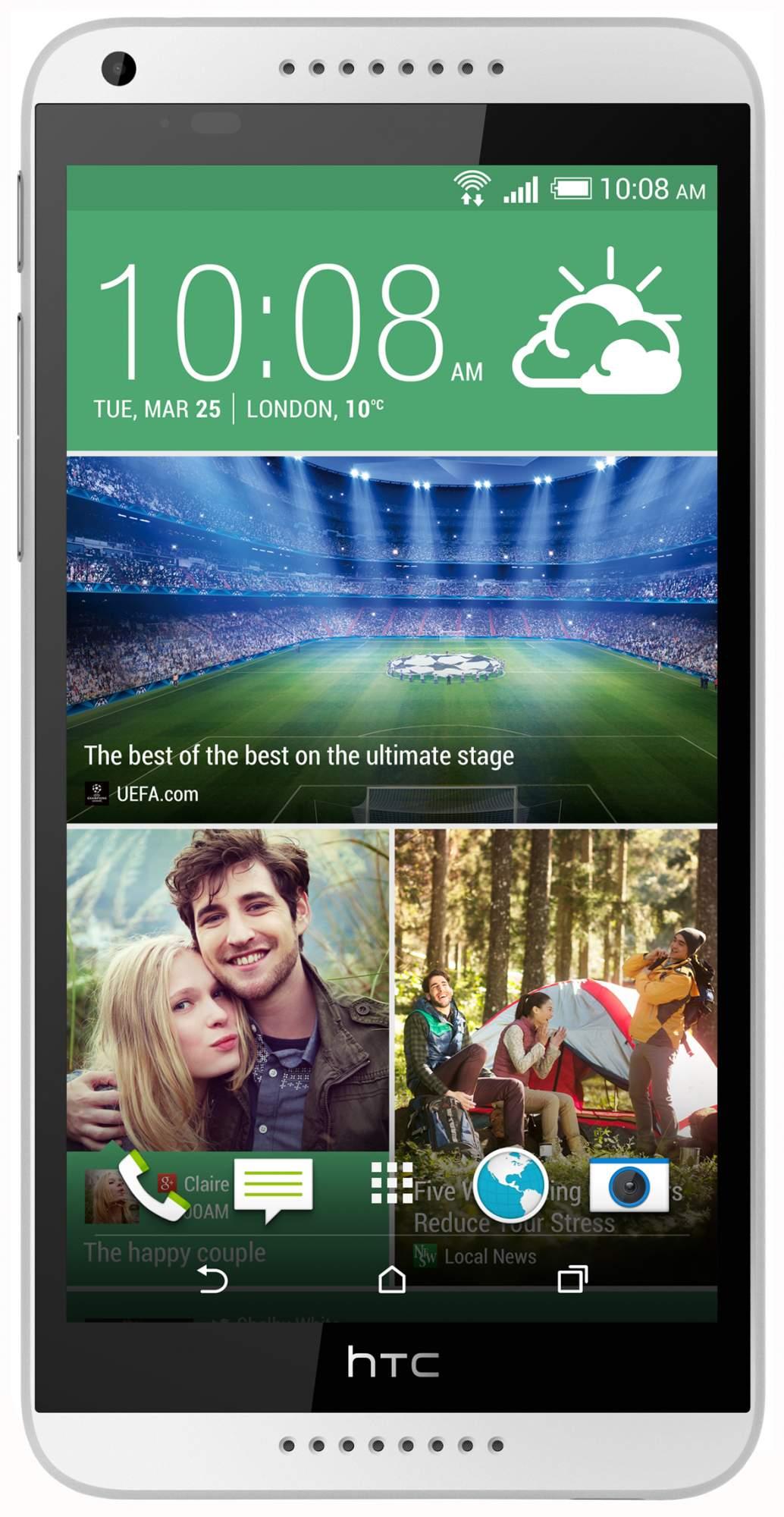 Смартфон HTC Desire 816G Dual Sim White