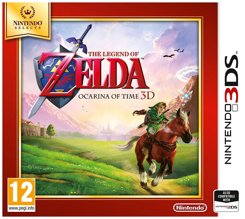 Игра The Legend Of Zelda Ocarina of Time 3D для Nintendo 3DS