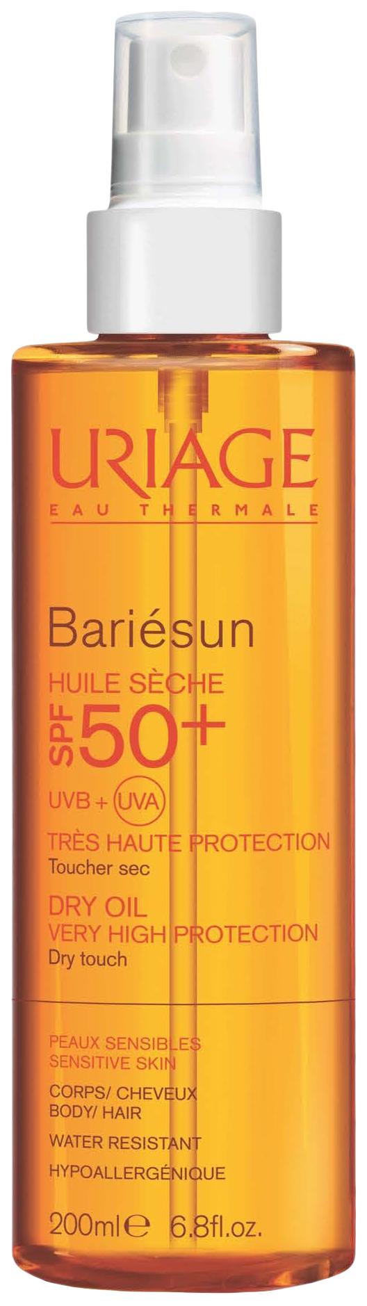 Солнцезащитное средство сухое SPF 50+ Uriage Bariesun 200 мл