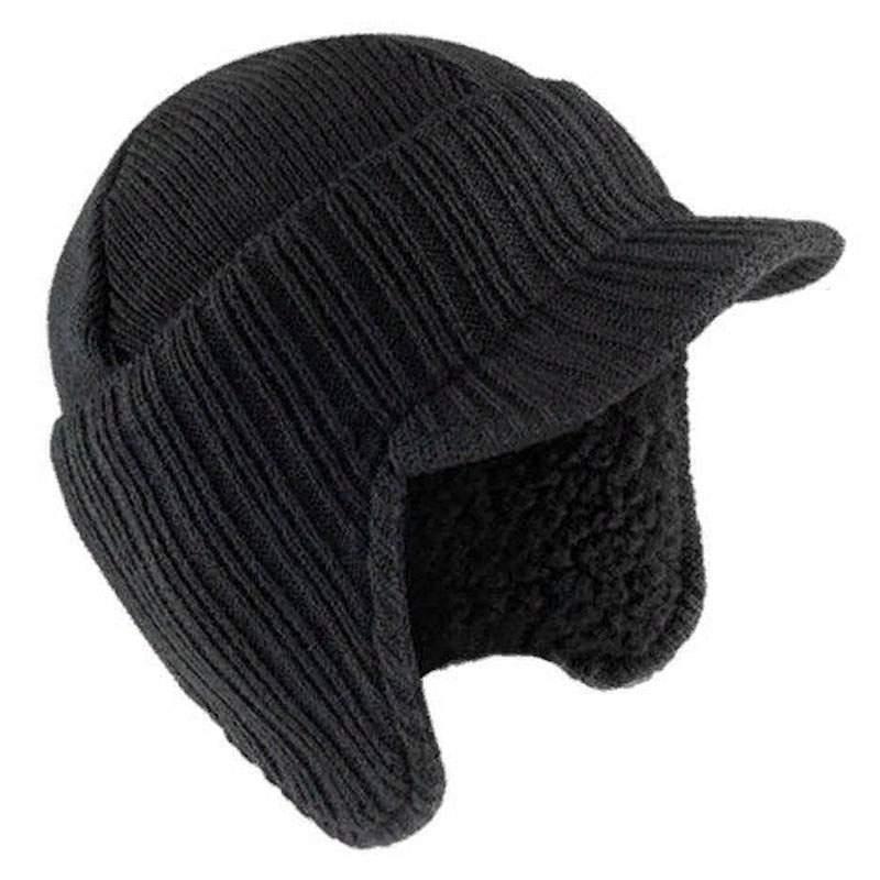 Шапка мужская ROCKJOCK HAI-649 черная