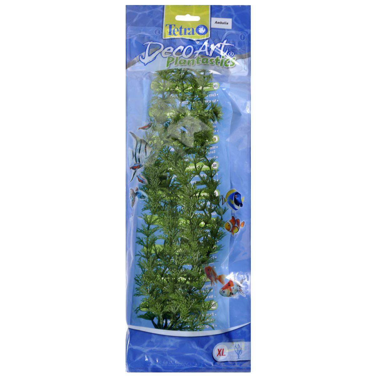 Растение искусственное Tetra Plantastics Амбулия, зеленый, XL, 38 см