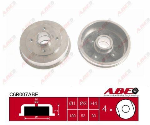 Тормозной барабан ABE C6R007ABE