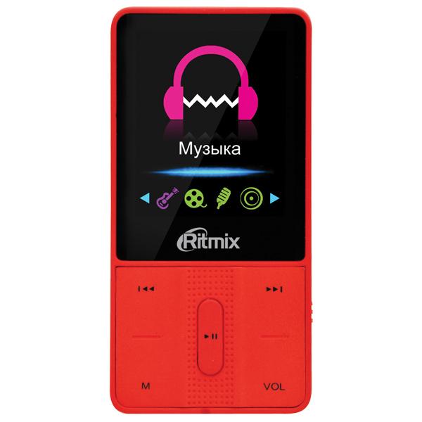 Портативный медиаплеер Ritmix RF-4550 8Gb Red
