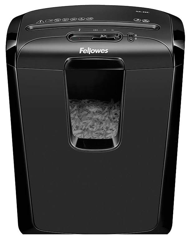 Шредер Fellowes PowerShred M-8C FS-46041 Черный