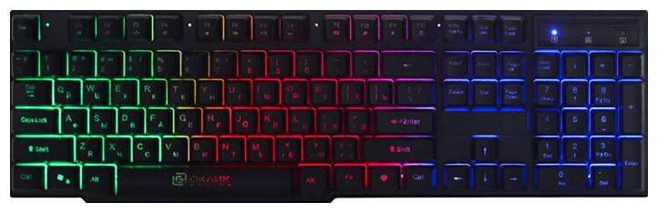 Игровая клавиатура OKLICK 780G Black