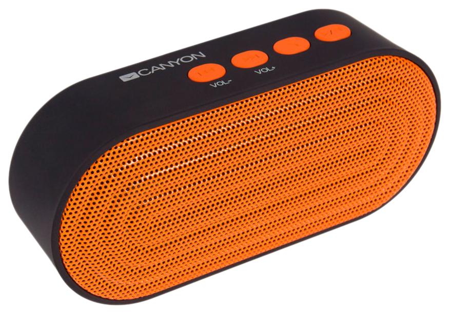 Беспроводная акустика CANYON CNE-CBTSP3 Orange/Black
