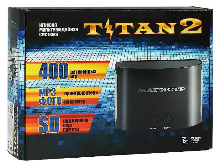 Игровая приставка Sega Mega Drive Magistr Titan 2 CONSKDN40 Черный