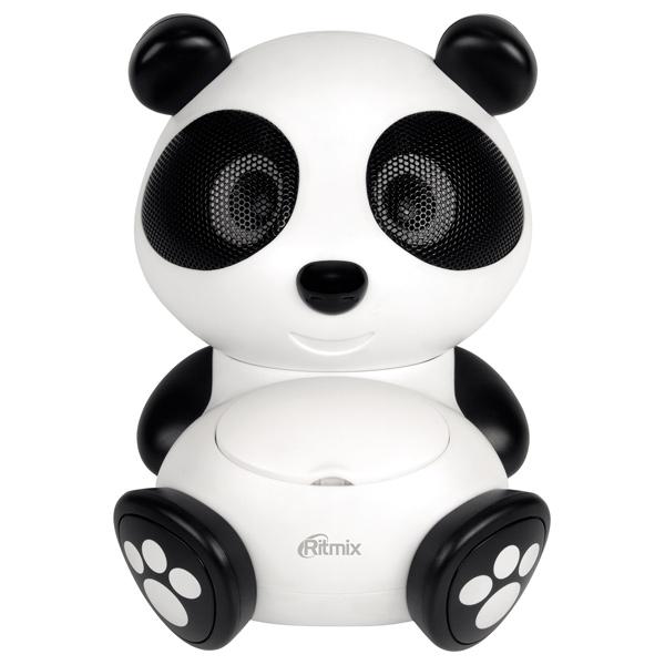 Магнитола Ritmix ST-550 Panda Белый черный