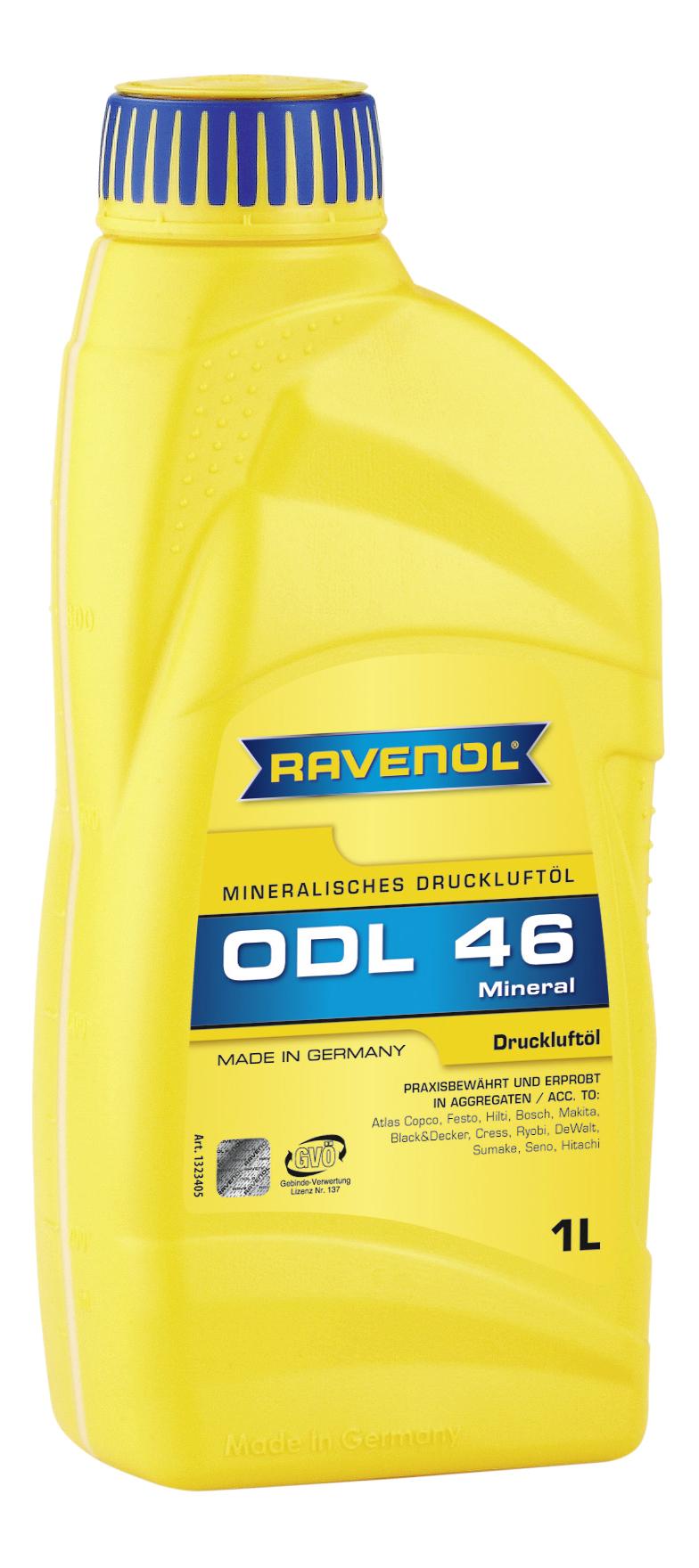 Гидравлическое масло RAVENOL ODL 1л 1323405-001