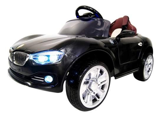 Электромобиль BMW черный RIVERTOYS