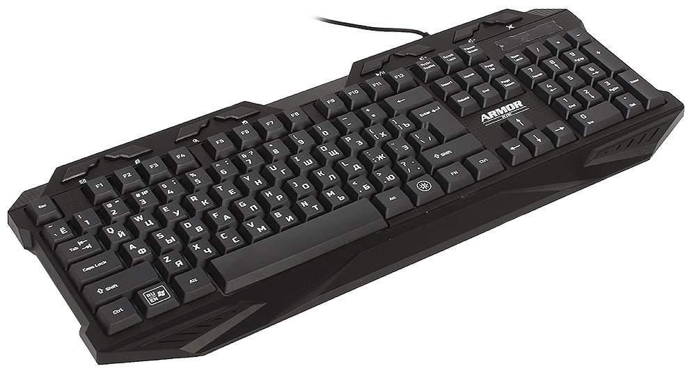 Игровая клавиатура CBR KB 868 Armor Black