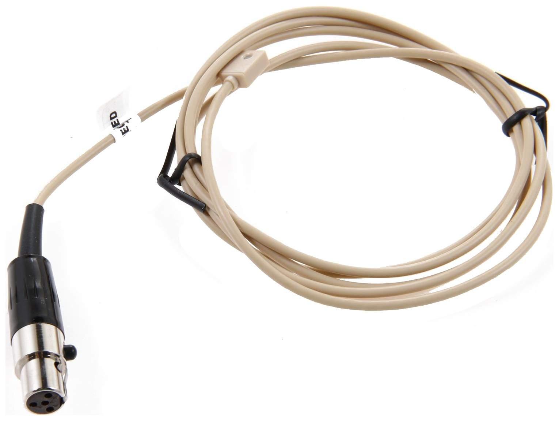 Микрофон Shure WL93T петличный для радиосистем Бежевый