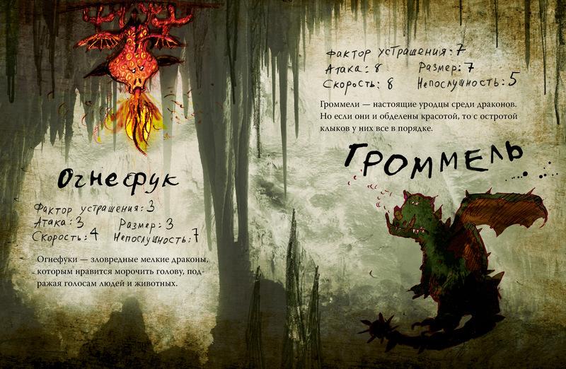 Как приручить Дракона, Неполная книга Драконов