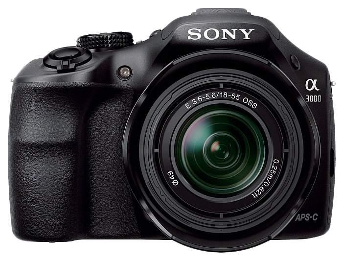 Фотоаппарат системный Sony Alpha A3000 Kit 18-55 Black