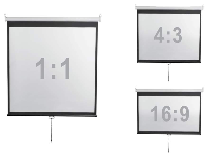 Экран для видеопроектора Digis Optimal-D DSOD-4304 Черный