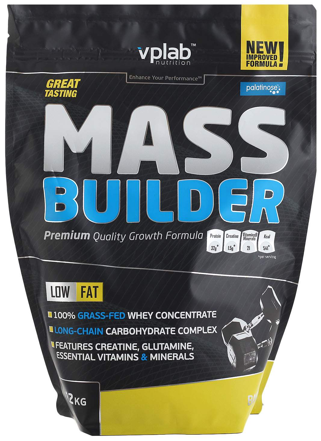 Гейнер VPLab Mass Builder 1200 г Banana
