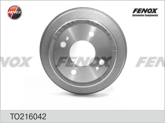 Барабан тормозной FENOX TO216042