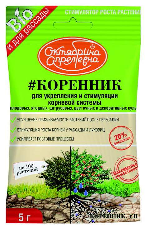 Коренник Октябрина Апрелевна СП (КОРЕННИК), 5 г