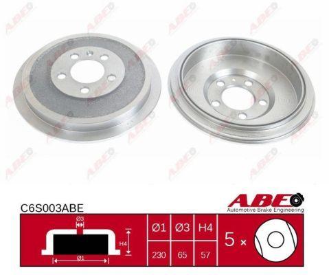 Тормозной барабан ABE C6S003ABE