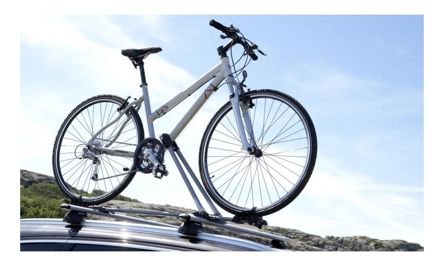 Крепление для велосипедов Mont Blanc На поперечины багажника (728540)