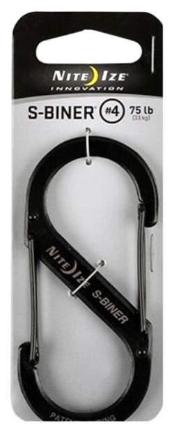 Карабин Nite Ize S-Biner #4SB4-03-01 Black