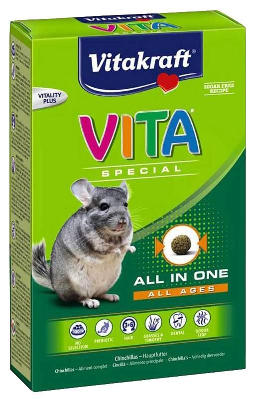 Корм для шиншилл Vitakraft SPECIAL ALL AGES 0.6 кг 1 шт