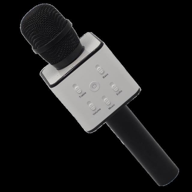Беспроводной караоке-микрофон Q-7 Black